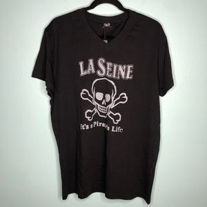 Dolce & Gabbana La Seine Pirate Black T-shirt